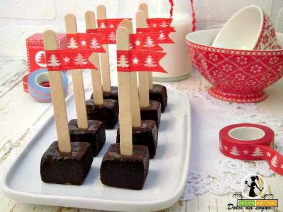 Cioccolata calda su stecco