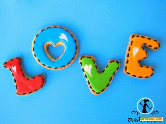 Biscotti Love per S. Valentino