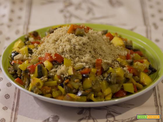 Cous cous di frutta e verdura