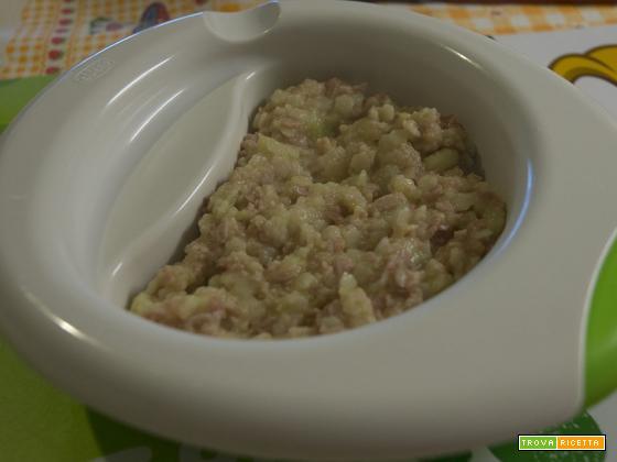 Pasta zucchine e prosciutto cotto