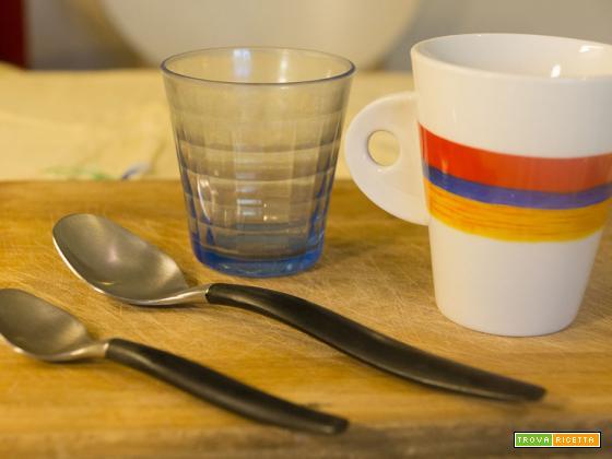 Pesare in cucina senza bilancia