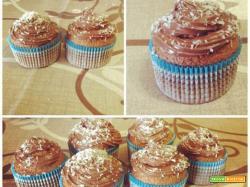 Cupcakes cocco e nutella