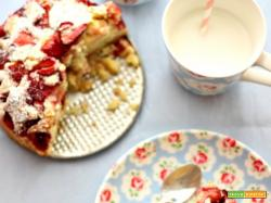 Easy strawberry cake :