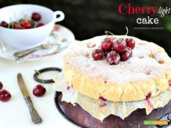 Cherry light cake