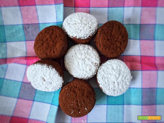Tortini al cioccolato bianco