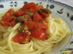 Crudaiola filante--ricetta estiva| La cucina di Katy