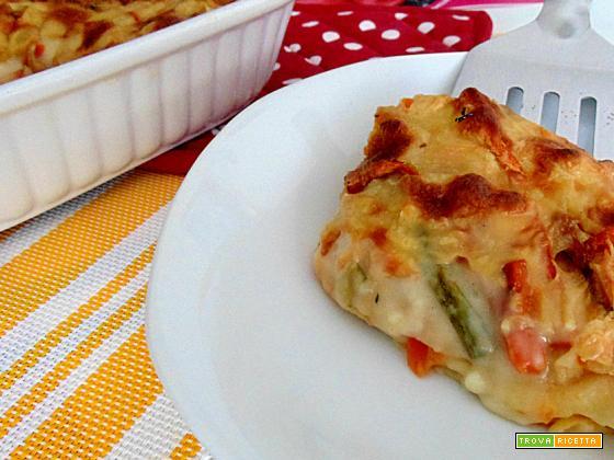 Lasagna vegetariana!