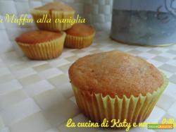 Muffin vaniglia senza burro