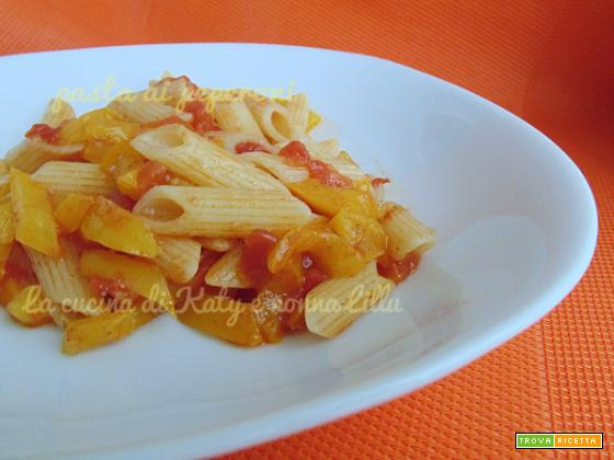 Pasta ai peperoni |ricetta leggera