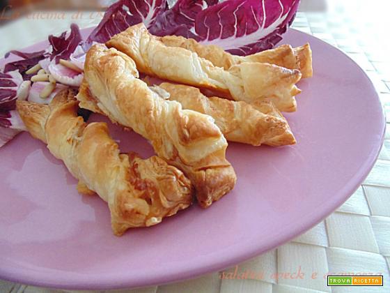 Salatini speck e scamorza|ricetta buffet