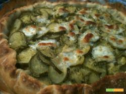 Torta di zucchine con pasta di pane| La cucina di Katy