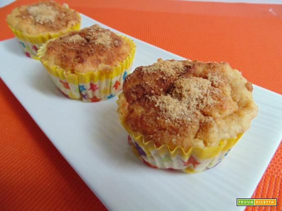 Tortini mele e biscotti-senza glutine
