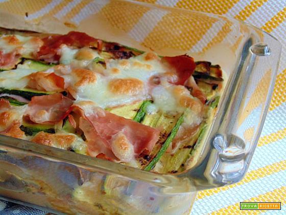 Tortino di zucchine | Ricetta con verdure