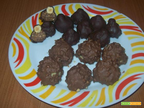 Baci perugina e Ferrero rocher fatti in casa