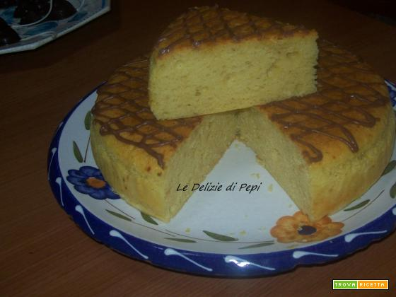 Cheesecake giapponese (Cheese Mushipan)