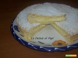 Crostata con crema allo yogurt