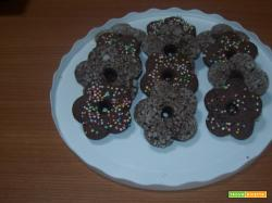 Gallette sarde con cacao