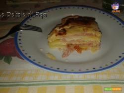 Gateau di patate e formaggio