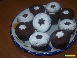 Muffin con ripieno di crema