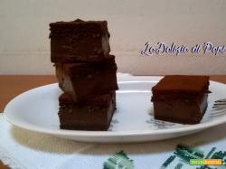 Torta magica al cacao e caffè