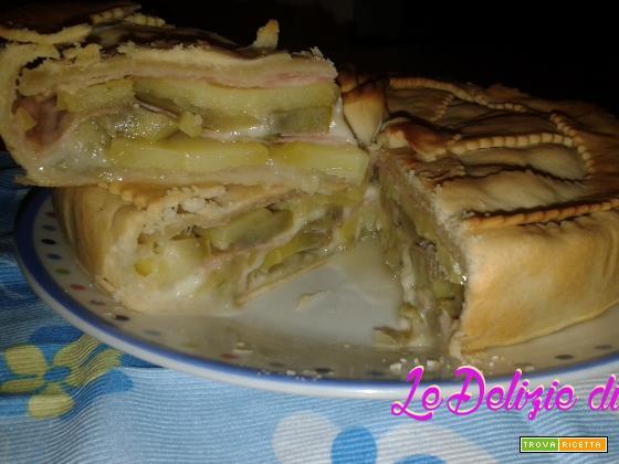 Torta salata di pasta brisée