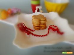 Biscotti al quadrifoglio e cannella