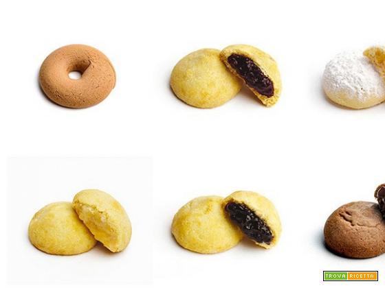 Frollini ripieni fatti a mano del biscottificio Dorotea
