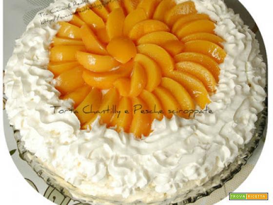 Pesche sciroppate SI.GI. del eShop Lorenzo Vinci per una torta di qualità e gusto!