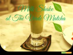 Milk shake al Thè Verde Matcha