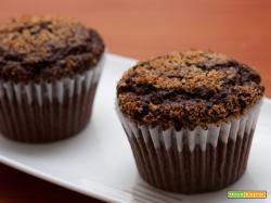 Muffin cacao e cocco senza latte