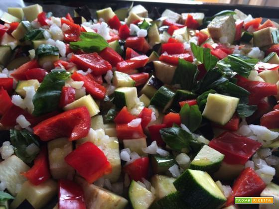 Cous cous con le verdure