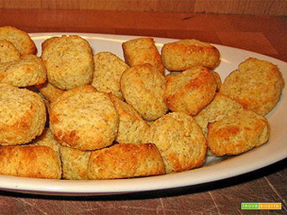 Biscotti integrali al cocco e limone