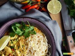 Zuppa di pollo al latte di cocco...thai style!