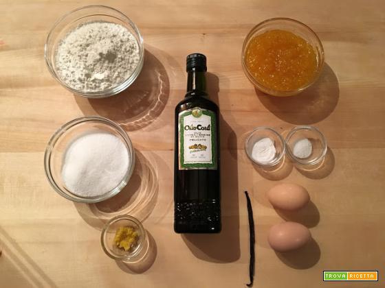 Crostata all'olio con marmellata di Chinotto di Savona