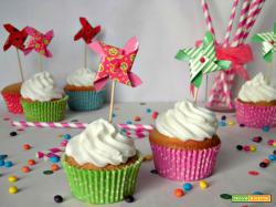 Cupcakes con girandole