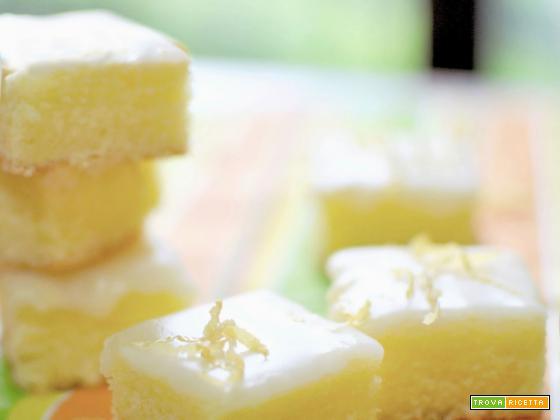 Brownies lime&limone