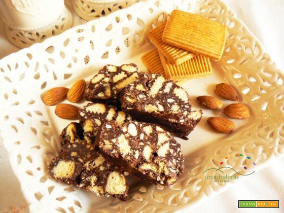 Salame al Cioccolato GLUTEN FREE e VEGANO!
