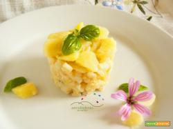 Risotto con Patate e Basilico fresco