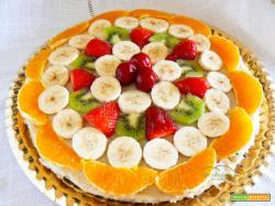 Torta alla frutta o Californiana Gluten Free e Vegana