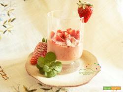 Crema vegana di Fragole