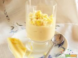 Crema al Limone GLUTEN FREE e VEGAN decorata con Cioccolato Bianco!