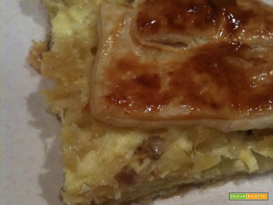 Senza Bimby, Pasta al Forno alla Salsiccia in Pasta Sfoglia