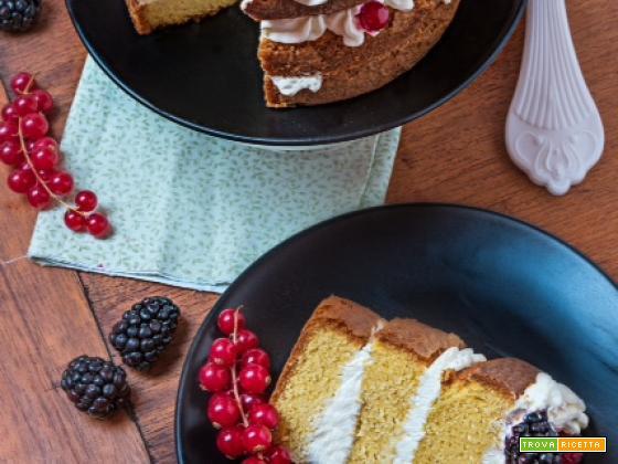 Sponge Cake by Manu