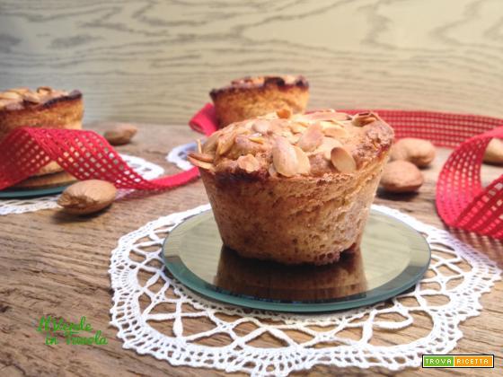 Muffin vegani cuor di marmellata