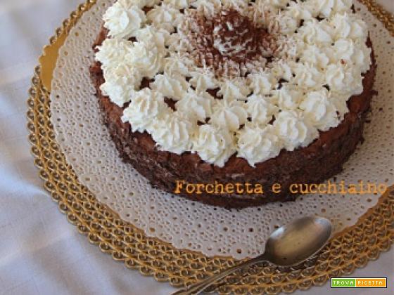 Torta meringa al cioccolato fondente