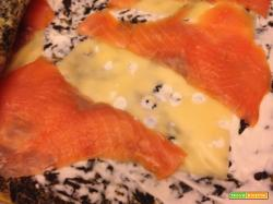 Con e Senza Bimby, Rotolo di Spinaci e Salmone e Cestini con Finocchi e Zucchine e Besciamella
