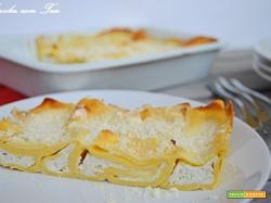 Lasagne alla crema di parmigiano