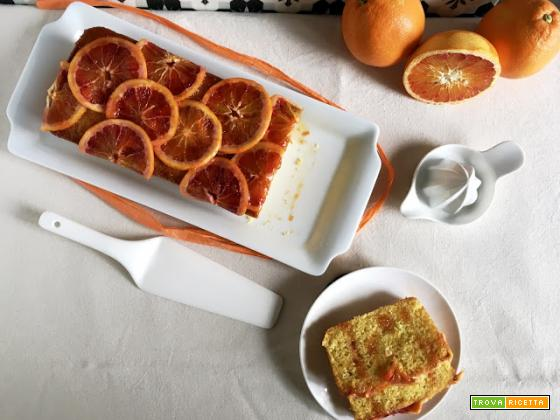 Plumcake all'arancia rossa