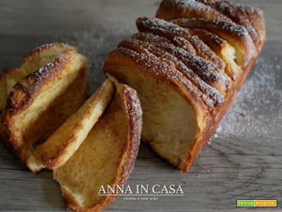 Pull-apart cannella cake