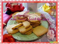 Biscotti al burro senza uova, latte e lievito